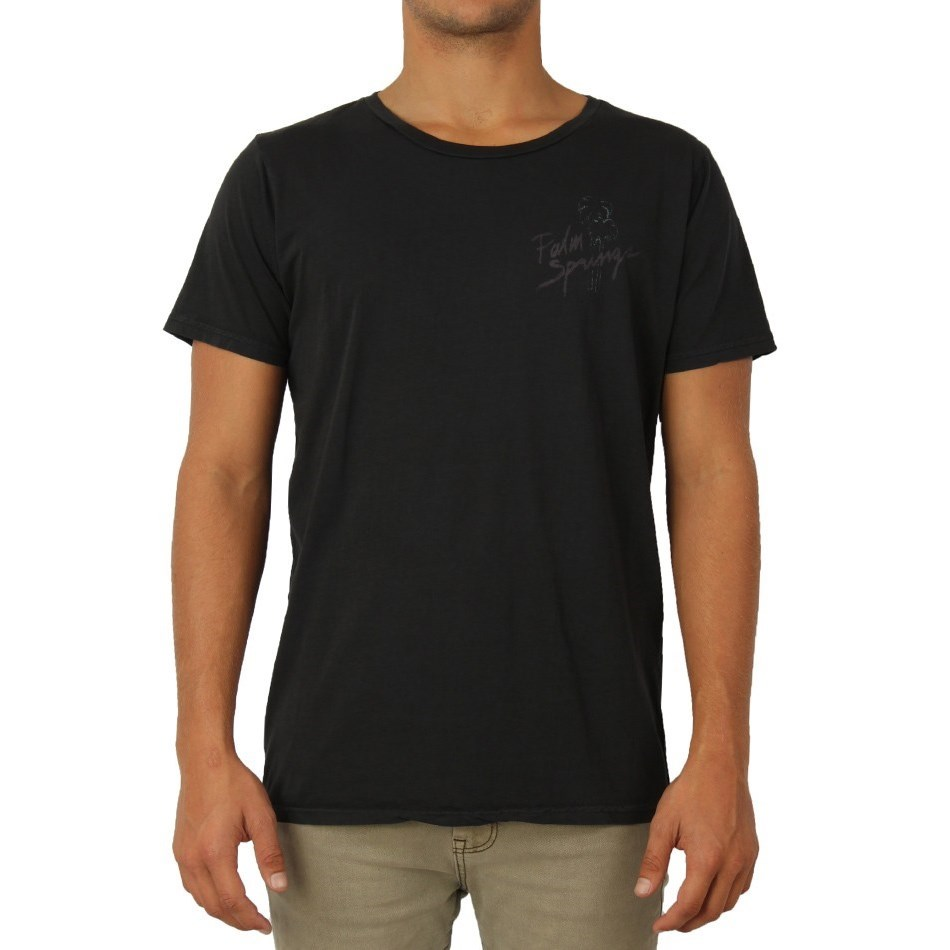 Folke palm springs t shirt washed black online sportitude for T shirt city palm springs