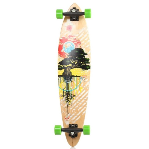 "Arbor Fish Carver Complete Skateboard 38"" x 8.75"" - Wood ..."